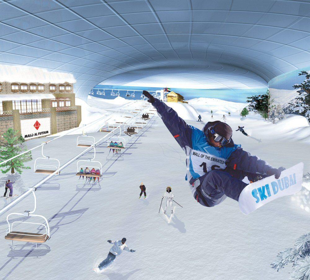 Ski Dubai Turns Five Inthesnow Ski And Snowboarding