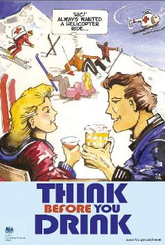 UK Tour Ops and Foreign Office Renew Alcohol Awareness Campaign In Ski Resorts - InTheSnow Snowsports Magazine