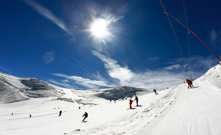 Where To Ski In August 2013? - InTheSnow | Snowsports Magazine