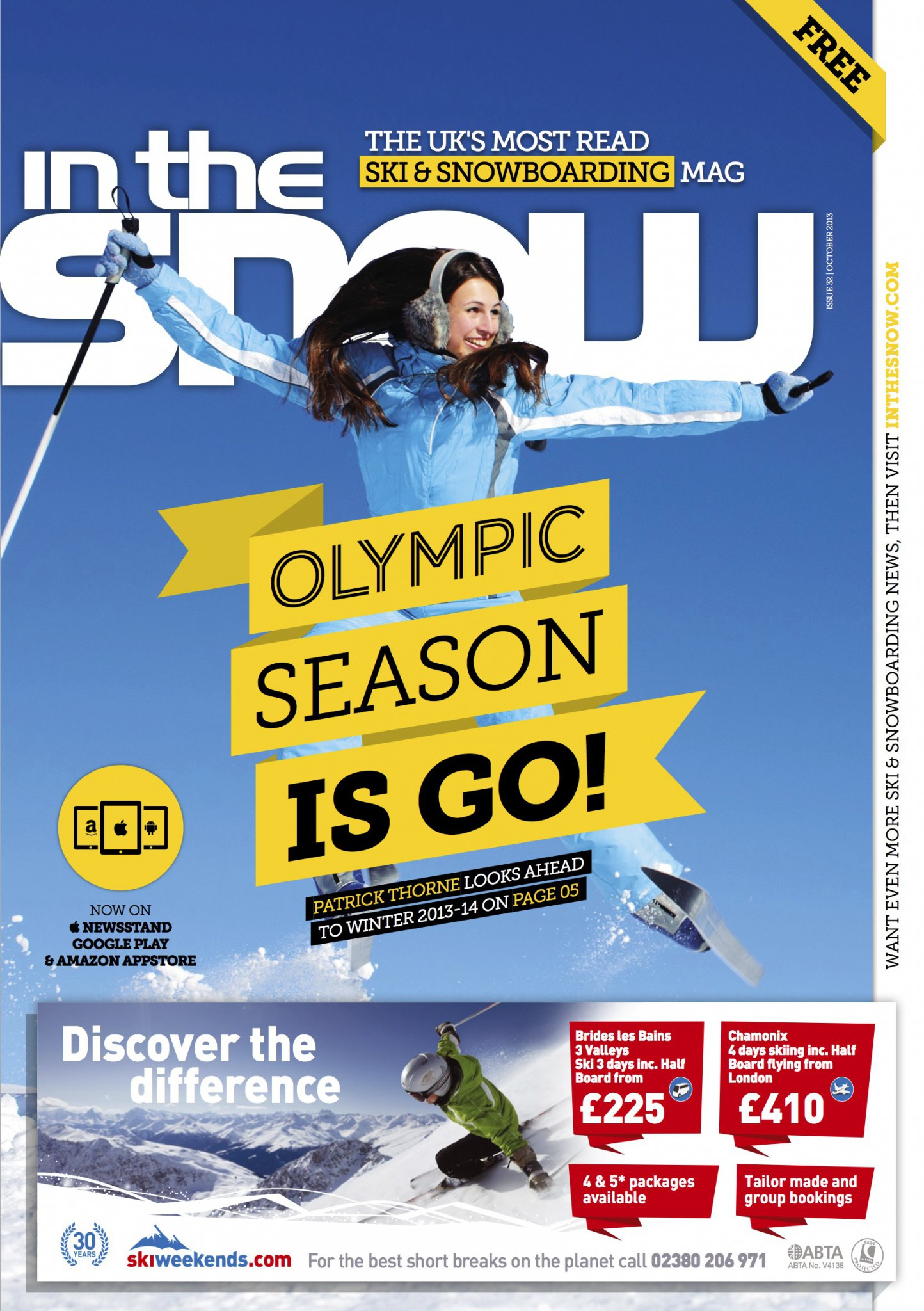 Issue 32 - InTheSnow | SnowSports Magazine