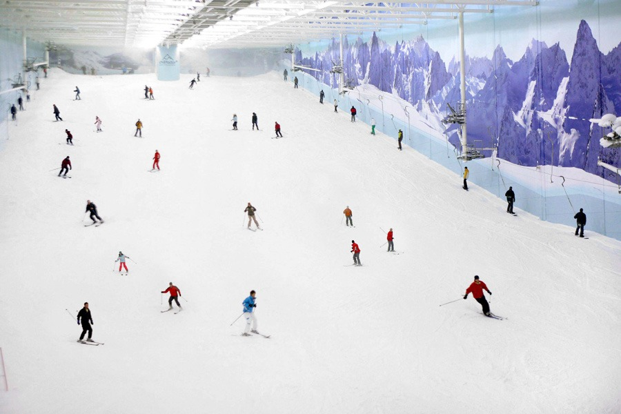 Manchester indoor snow centre for sale inthesnow