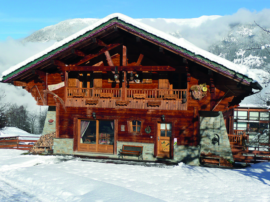 Lux chalet bookers warned about fraudsters inthesnow - Chalet jardin d angele ...