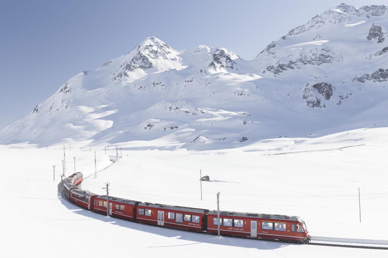 Local Train Travel In Austria