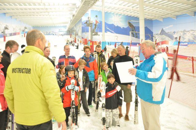 New Indoor Skiing World Record Set