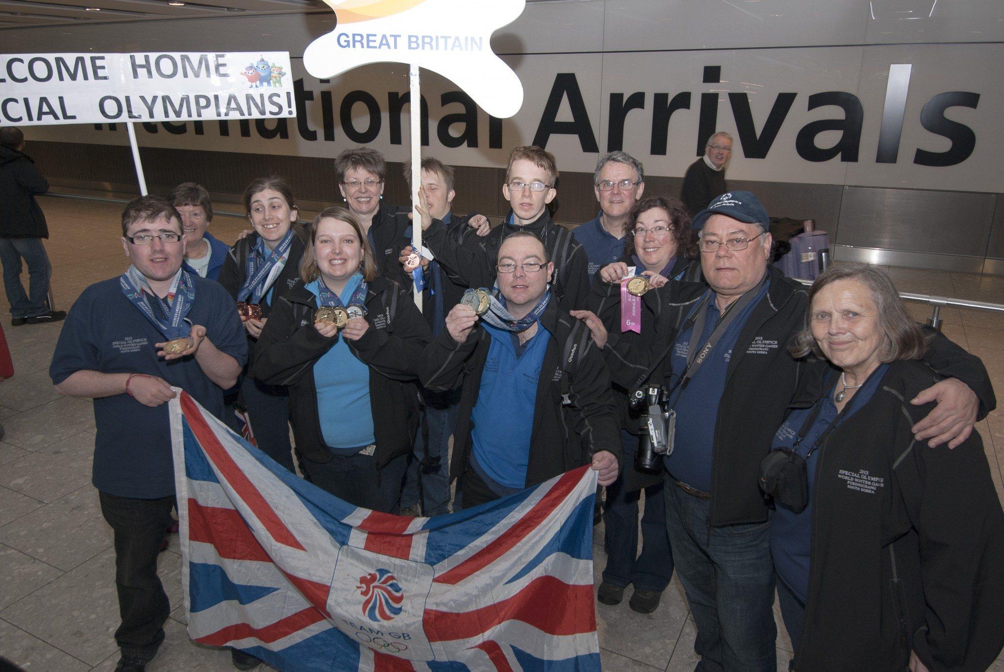 SOGB Ski Team 2013 at Heathrow