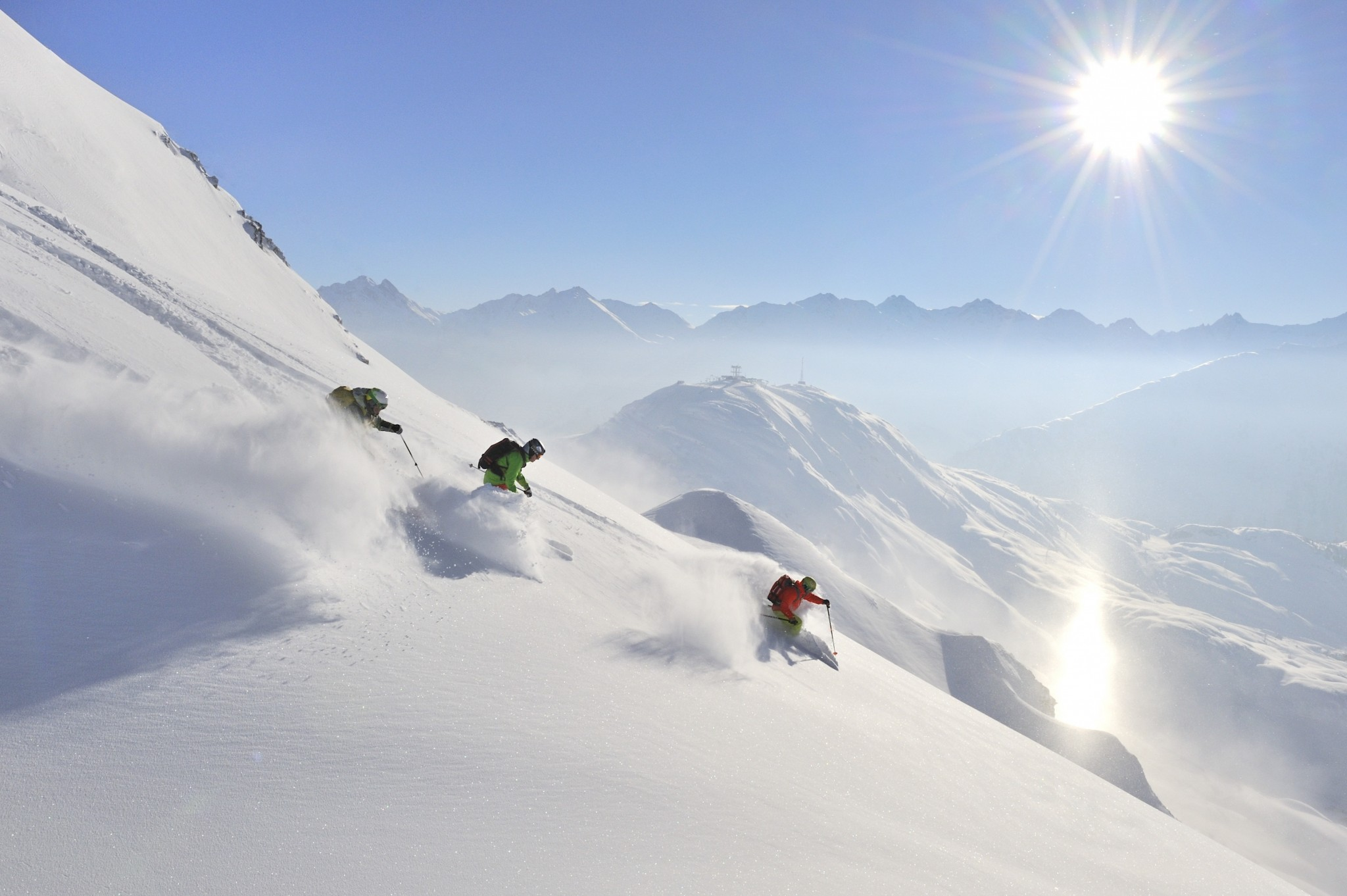 St Anton's Powder Snow Weeks CREDIT St Anton am Arlberg Tourist Board and Photographer Josef Mallaun