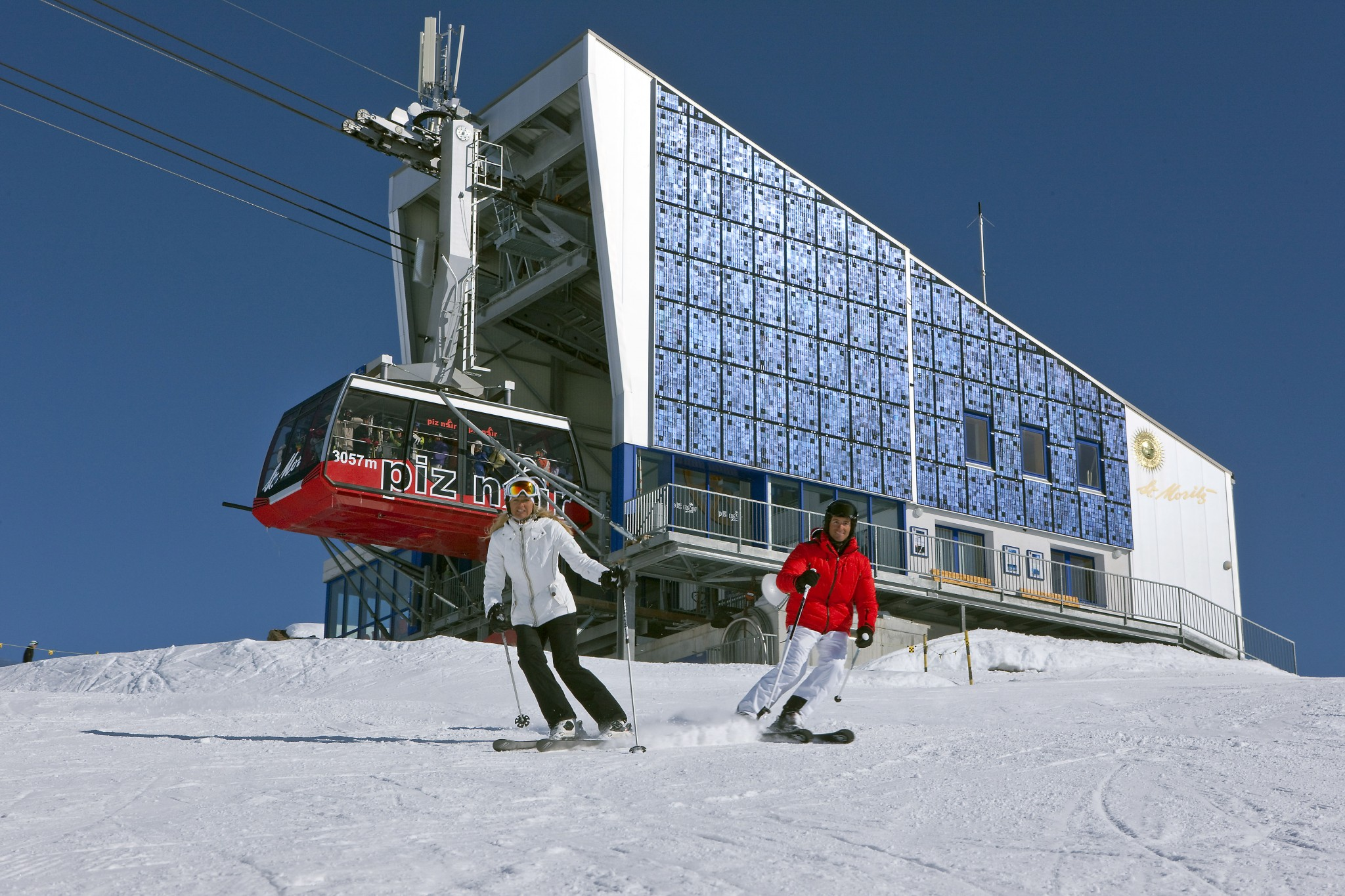 Earlier Opening And New Ski Safari at St MoritzCREDITSwissImageChristof Sonderegger