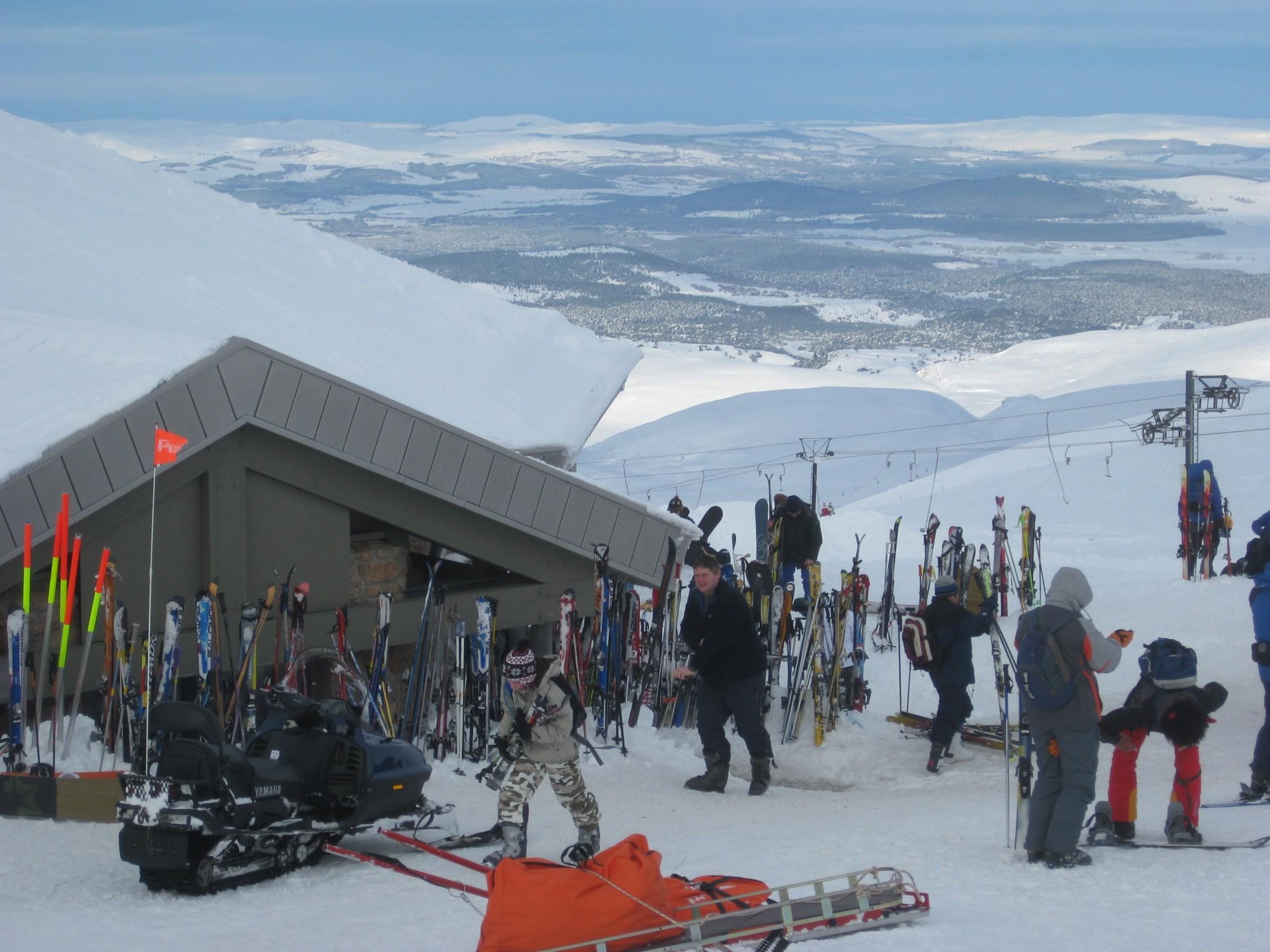New Beginner Ski Lift On Cairngorm (2)