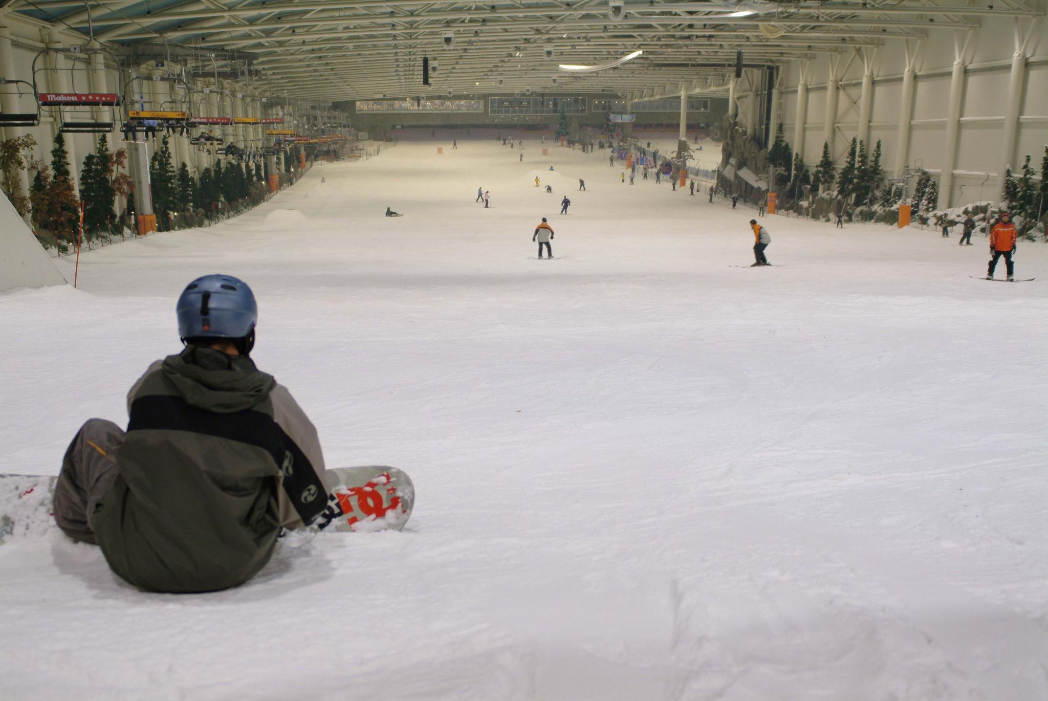 New Indoor Snow Centre For Saudi Arabia Inthesnow