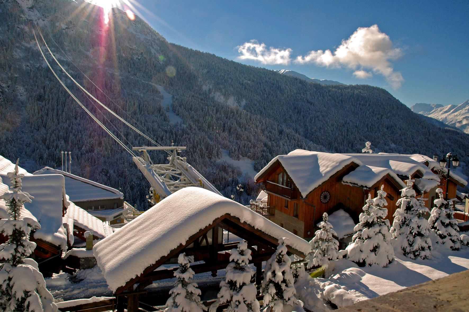new year skiing