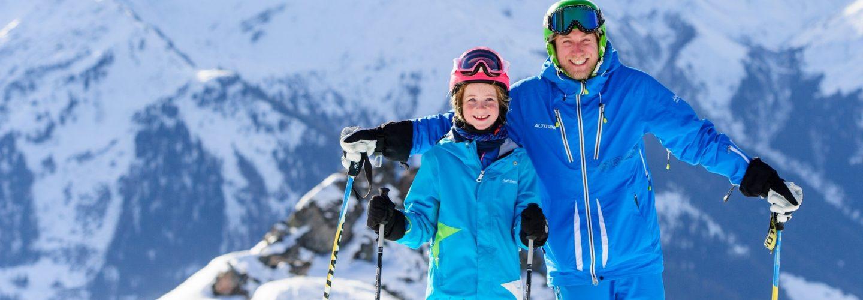 Learning through fun - learning to ski while having fun