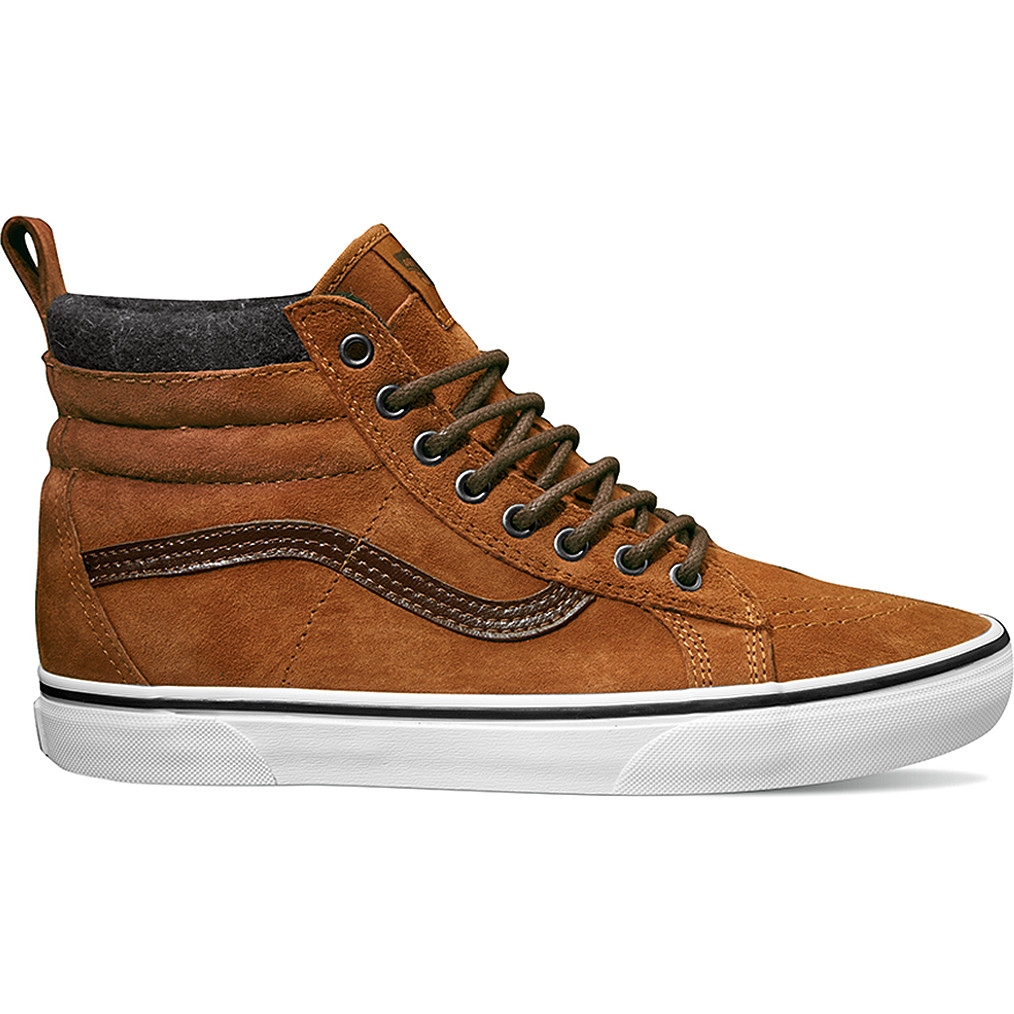 29cb6ce44b Vans Sk8-Hi MTE Mountain Edition Shoe – Glazed Ginger Plaid