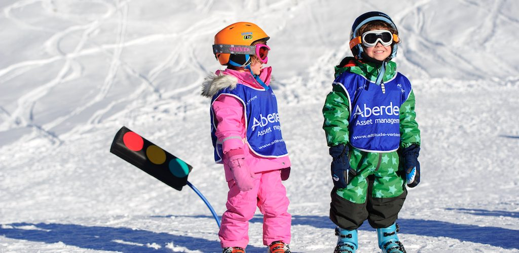 Help your kids ski safely on a family ski holiday