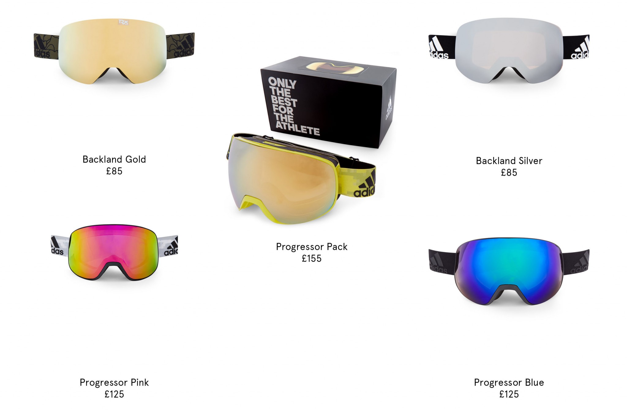 5ec4e9c48 ... with a cylindrical double-lens for crystal clear vision and a snug fit  in all weathers. The Progressor C and S can be purchased as stand-alone  goggles.