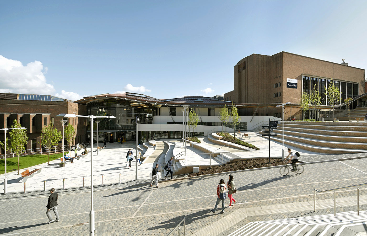 exeter university to have snow slope for one day only