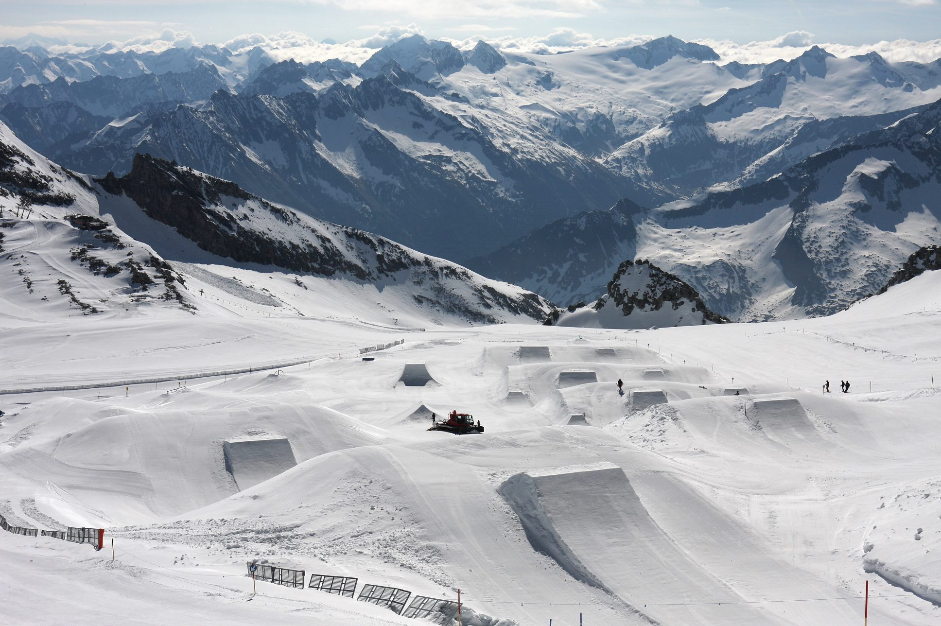 Austria highest ski resorts in austria
