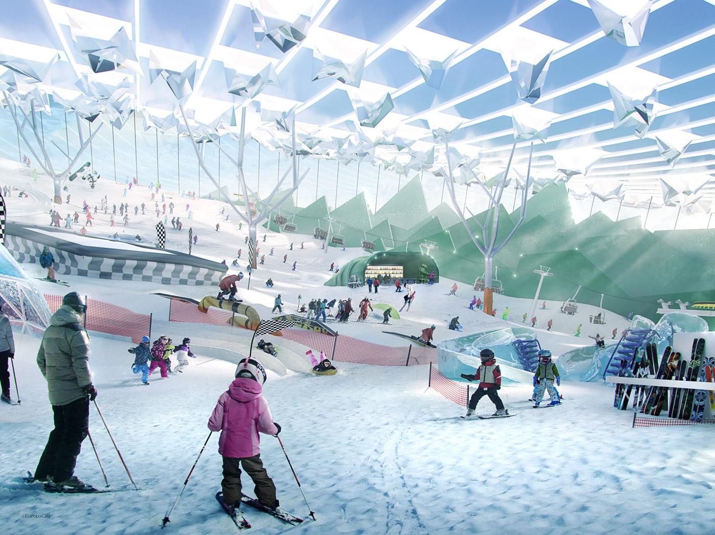 Planned 3 1 Billion Mega Mall Near Paris To Feature