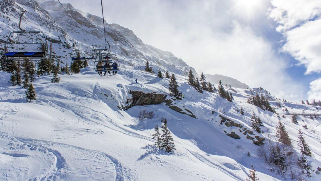 secluded skiing vaujany