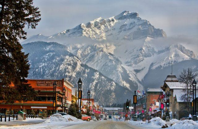 "Banff ""Most Instagrammed Ski Resort in the World"""