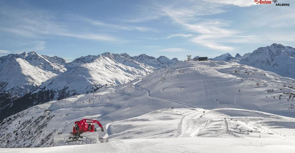 St Anton Snow Report and Forecast 1 Dec 2017