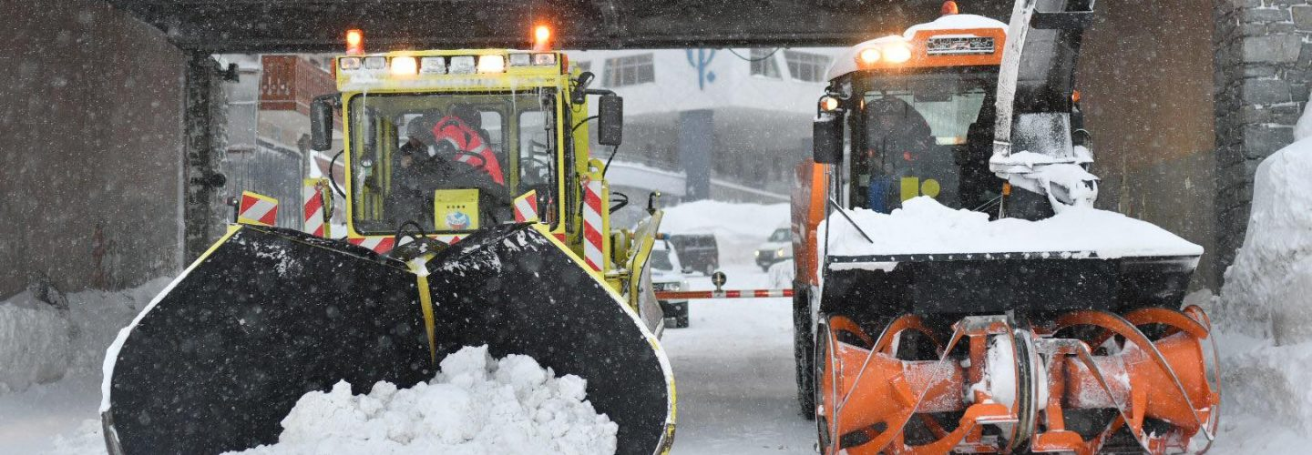 Several Ski Resorts in Alps Cut off Again as Snow Closes Rail and Road Links