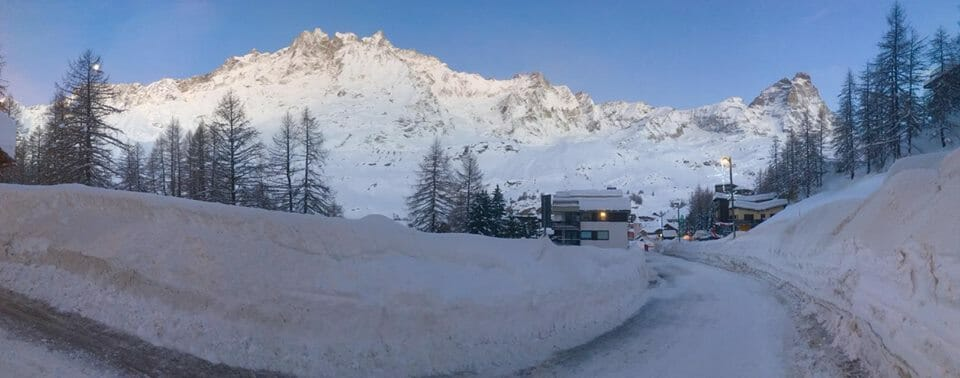 Cervinia Snow Report and Forecast 9th January 2018
