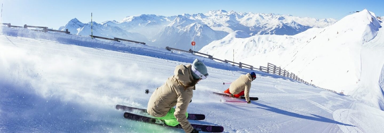 Skiing One of the World's Three Biggest Ski Areas - La Plagne