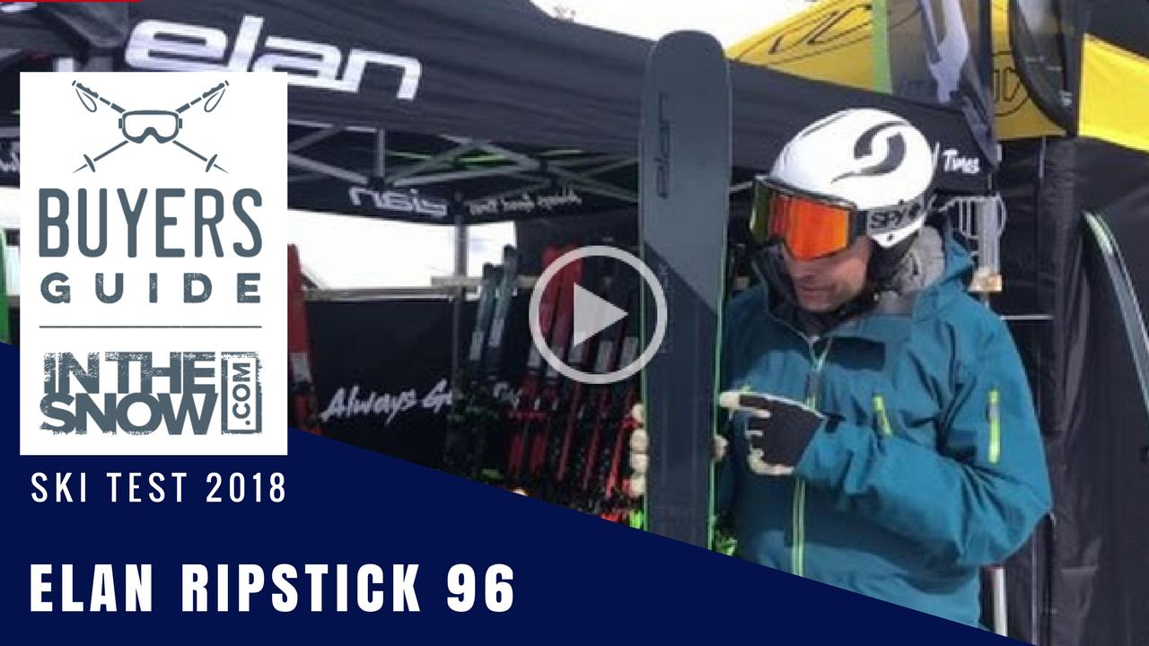 Elan Ripstick 96 Black Edition 2019 Ski Review   InTheSnow