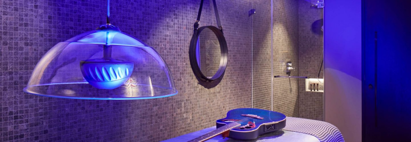 World first music centric spa at Hard Rock Davos