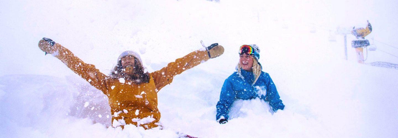 60cm of snow at Coronet Peak