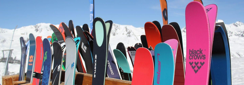 Ellis Brigham Staff Ski Test