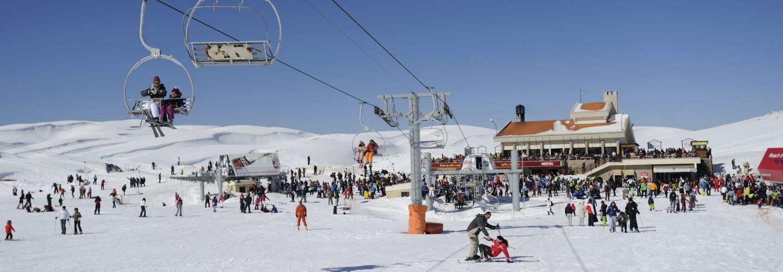 Lebanon skiing