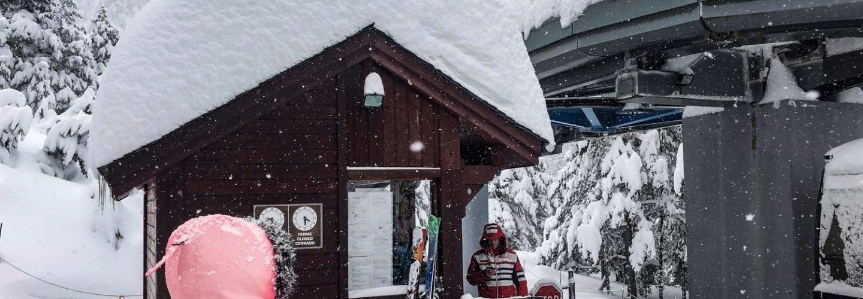 huge snowfalls
