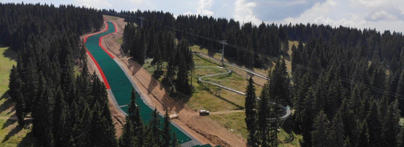 longest dry ski slope