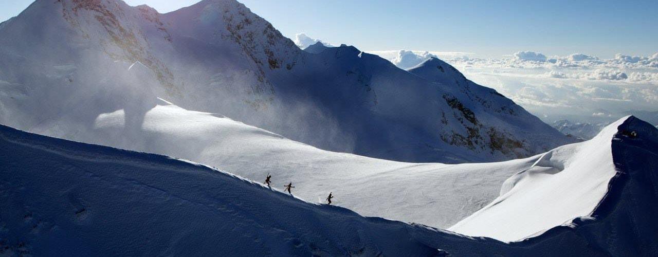 snowfall Alps