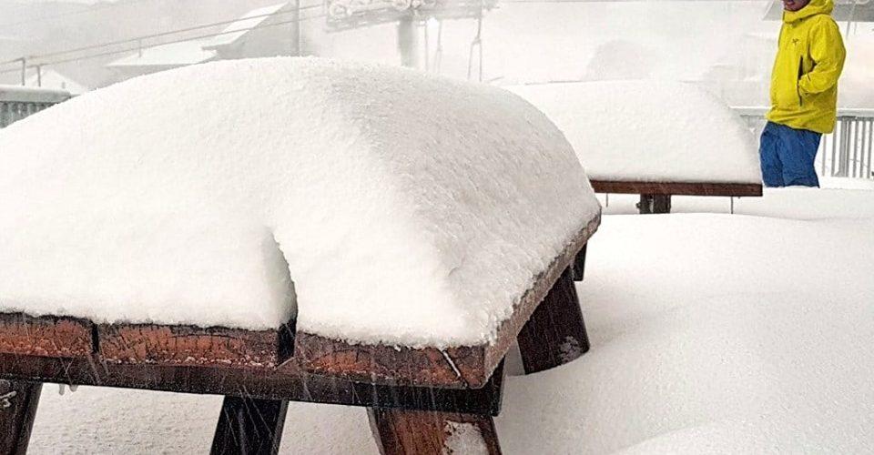 Australia snowfall