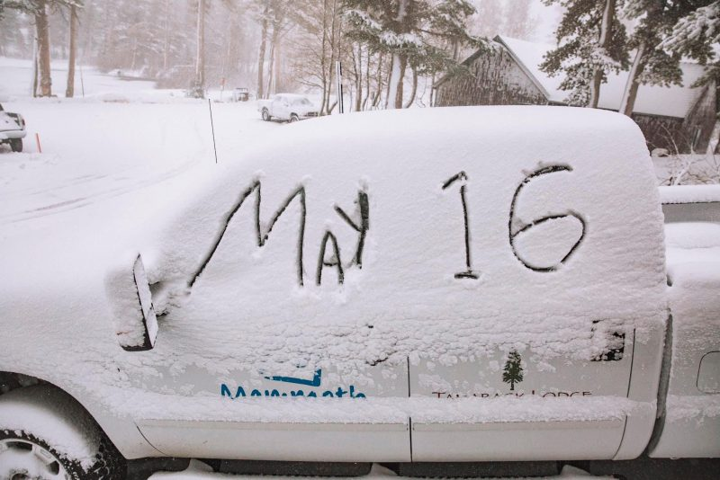 Mammoth Extends Season in to August after What's Now Snowiest May Ever