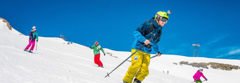 Europe summer glacier skiing
