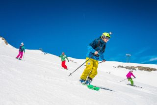 Europe summer glacier skiing