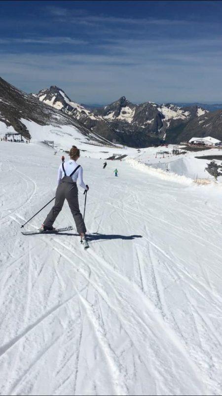 Summer Skiing 2 alpes