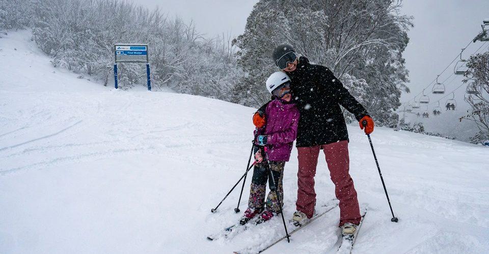 Big Snowfalls Down Under