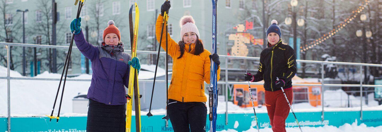 Lahti ski sharing programme